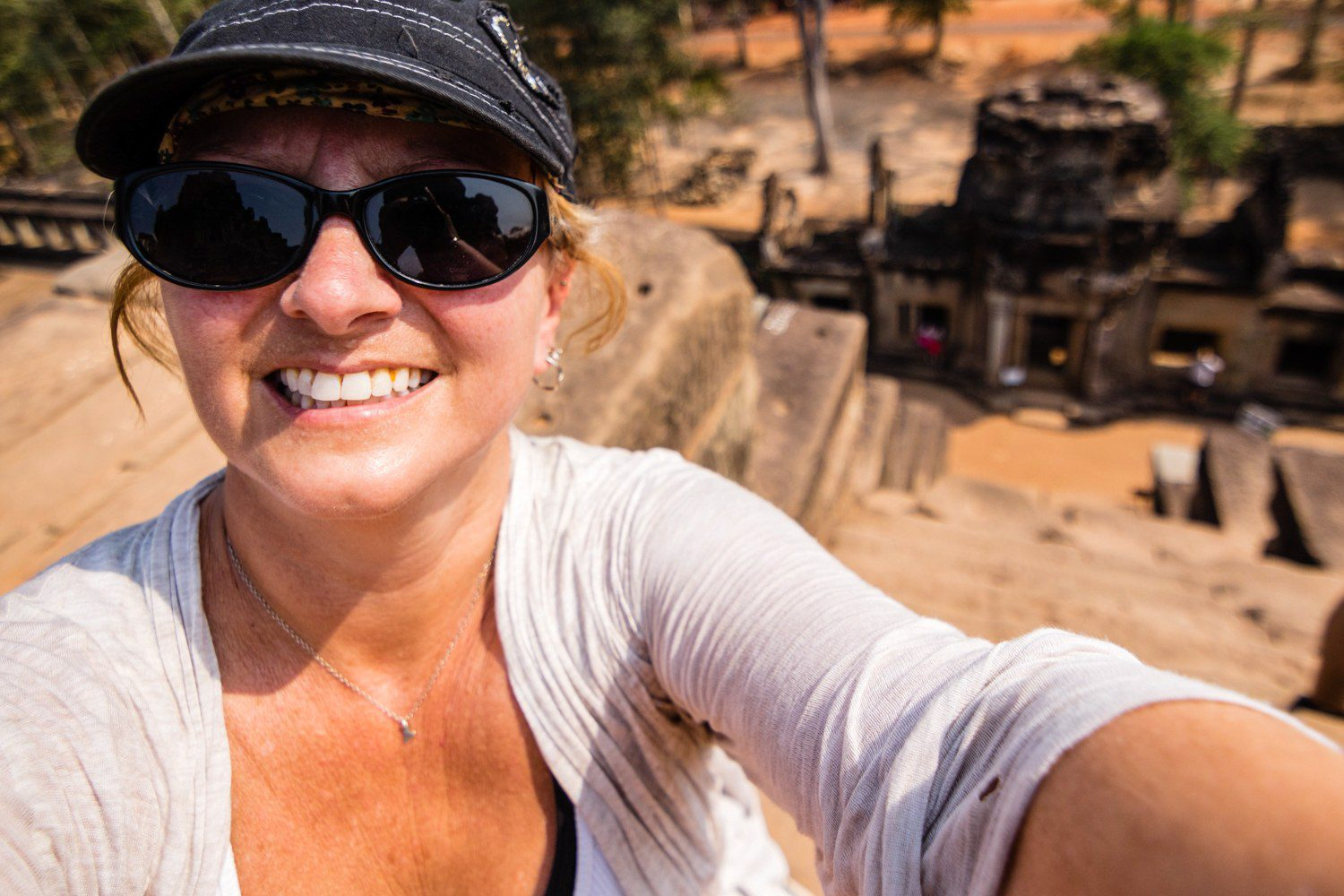 Exploring the temples of Siem Reap, Cambodia.