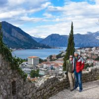 Exploring beautiful Kotor, Montenegro.