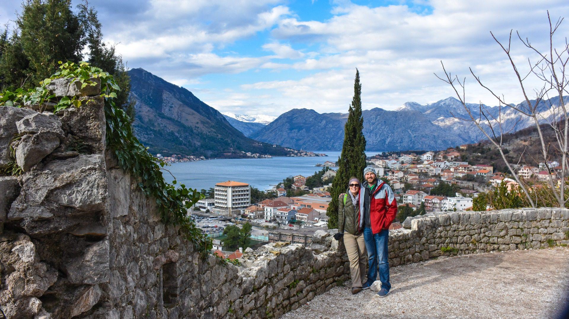 Exploring beautiful Kotor, Montenegro.