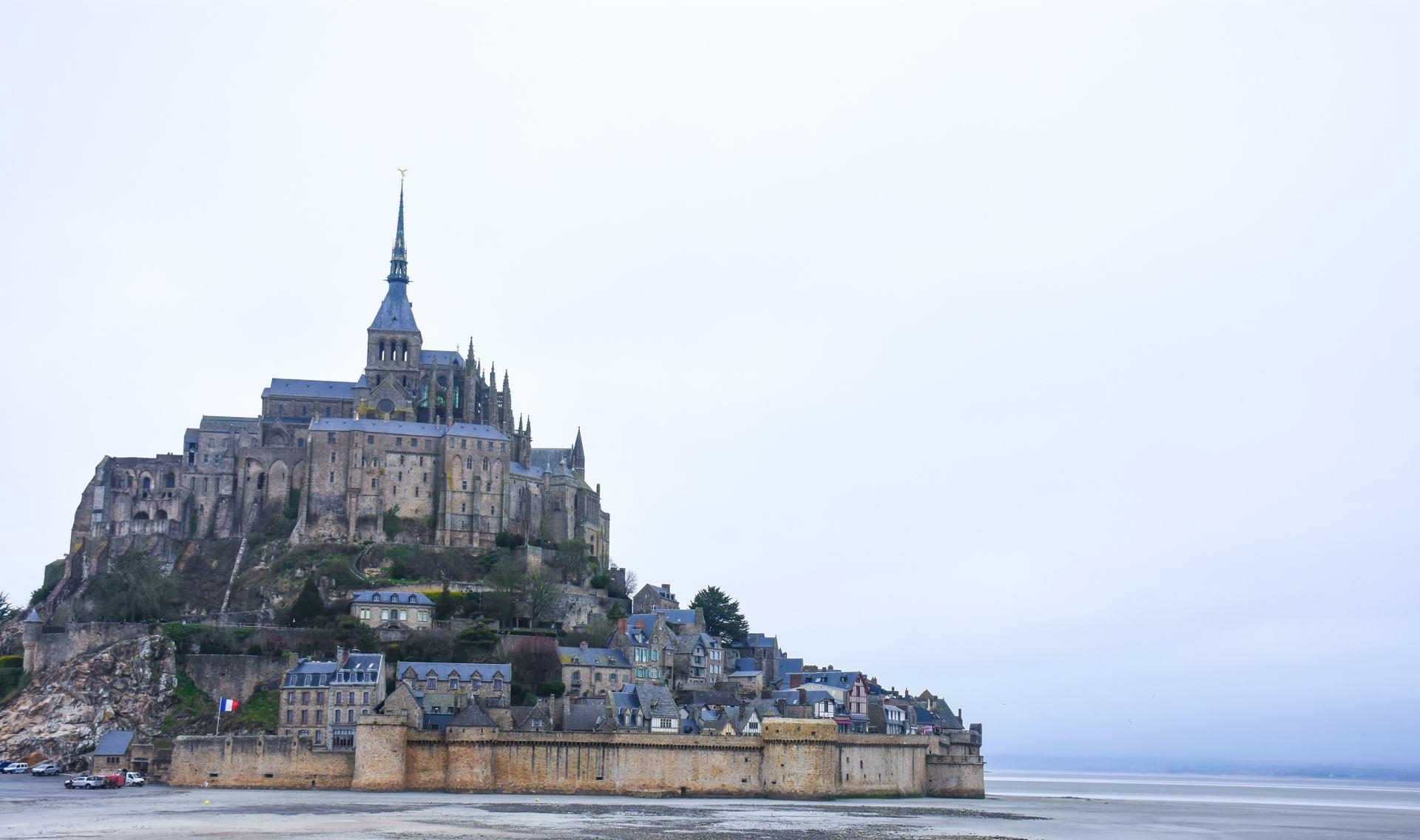 Mystical Mont-Saint-Michel, France.