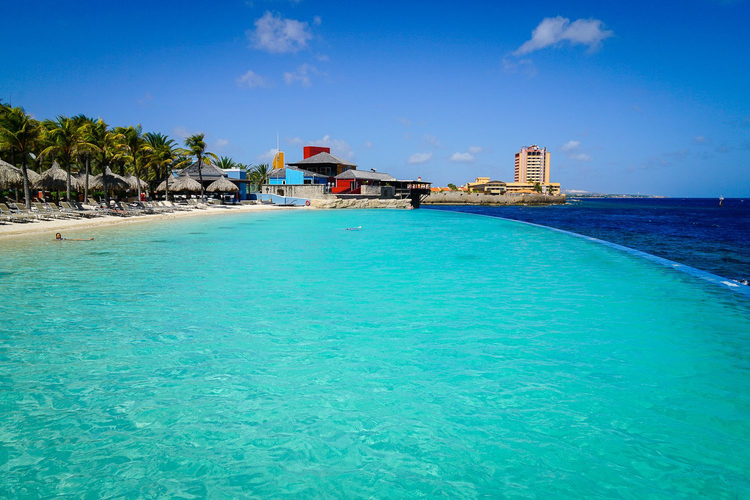 Loved this pool in Curacao!
