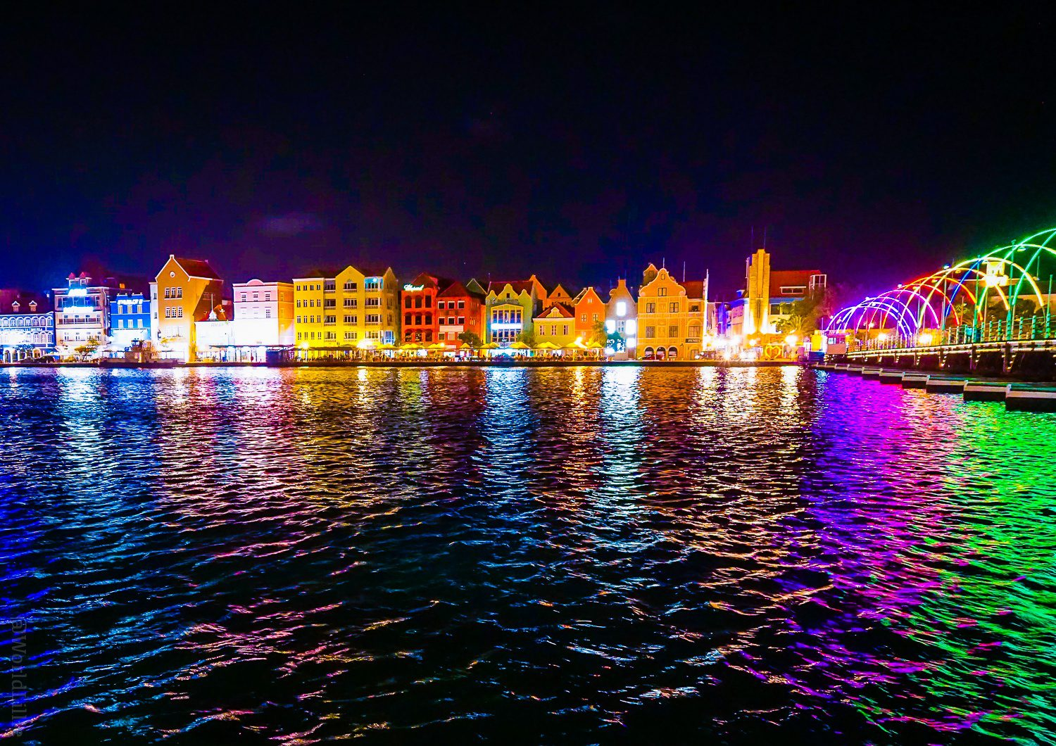 Colors of Willemstad.