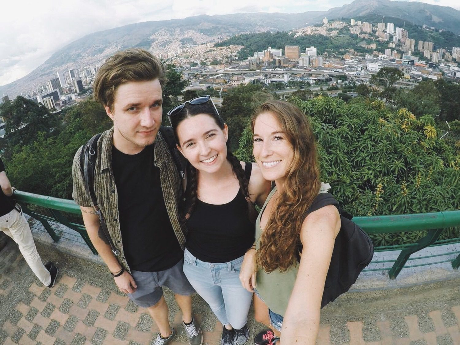 While living in Medellin, Colombia.