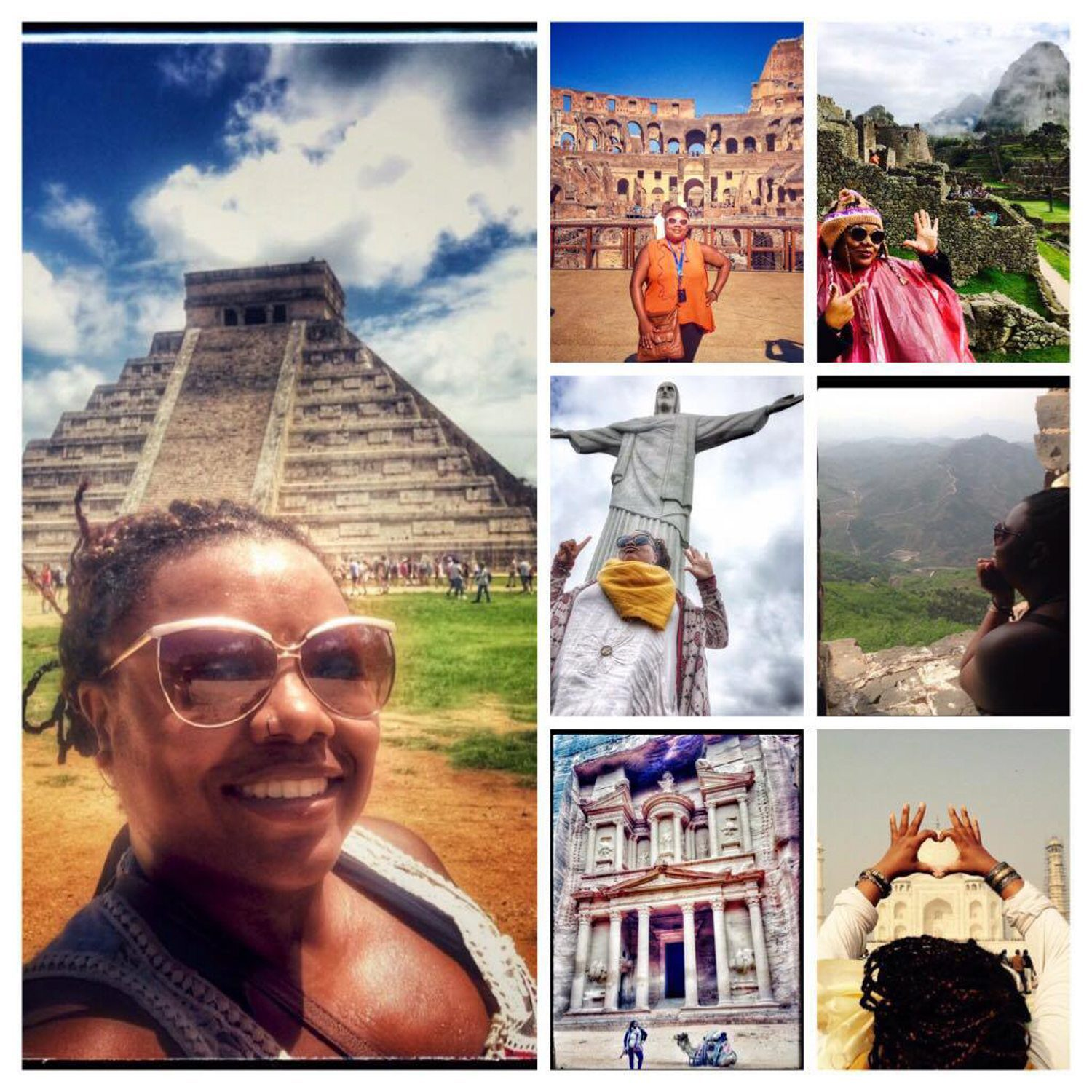 7 World Wonders in 1 year!