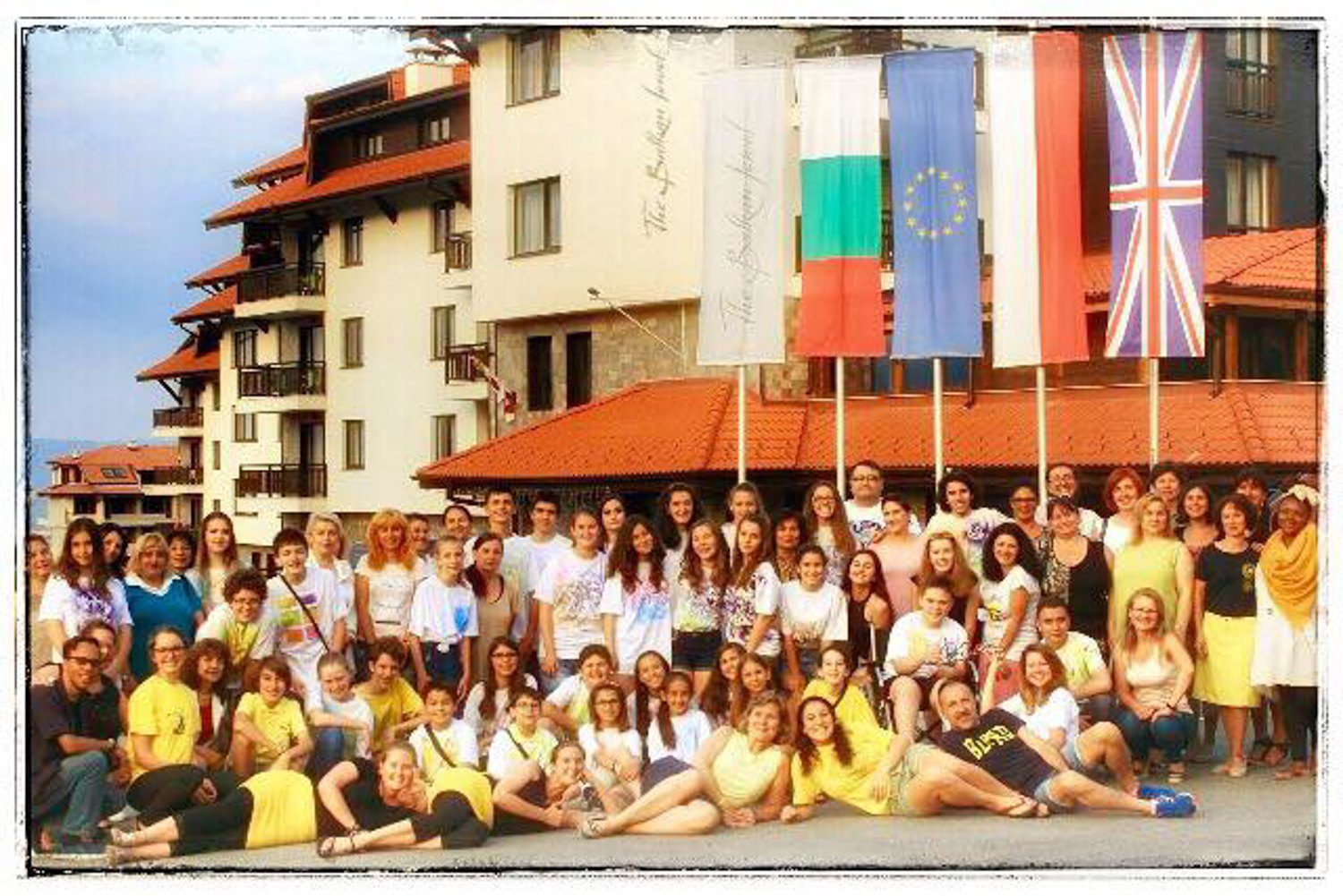 The Bulgarian National English Spelling Bee Camp Crew.