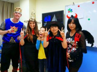 Teaching English in China: Halloween costumes!