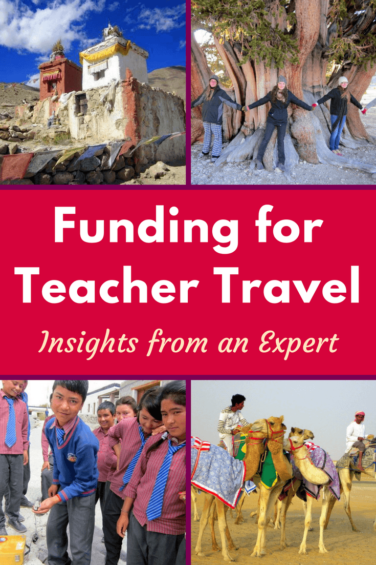"""An expert on free teacher travel explains how he found funding to do field work on five continents, and the inspiration to write his book, """"Passion Projects For Smart People""""."""