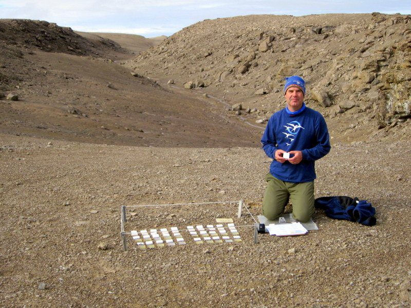 Passion project: Studying microbes in the Arctic soil.