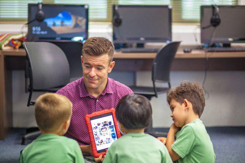 Tim, while international school teaching.