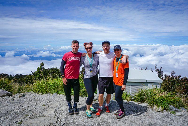Teachers hiking Mt. Kinabalu in Malaysia.