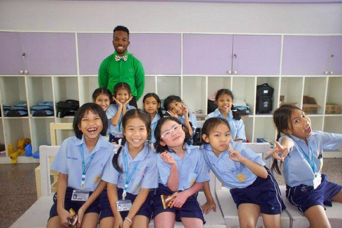 Teaching English Abroad in Asia as a Black Man