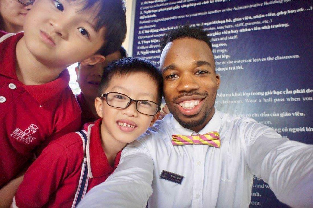 Teaching English Abroad in Asia as an African-American Man