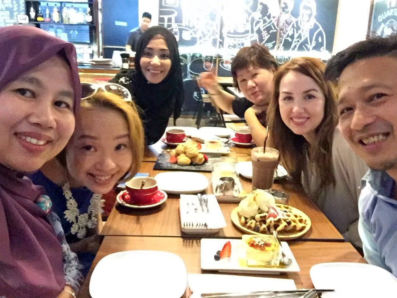 Singapore with dear friends made through the Fulbright Distinguished Awards in Teaching Program.