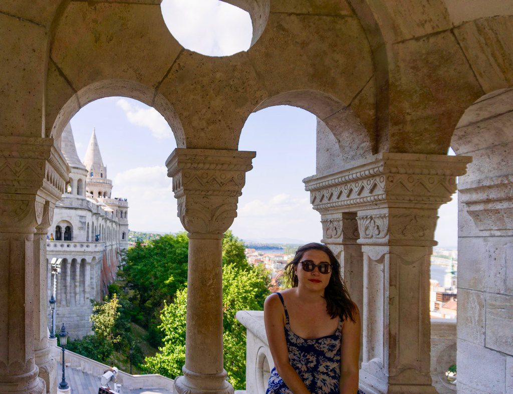 Fisherman's Bastion in Budapest.