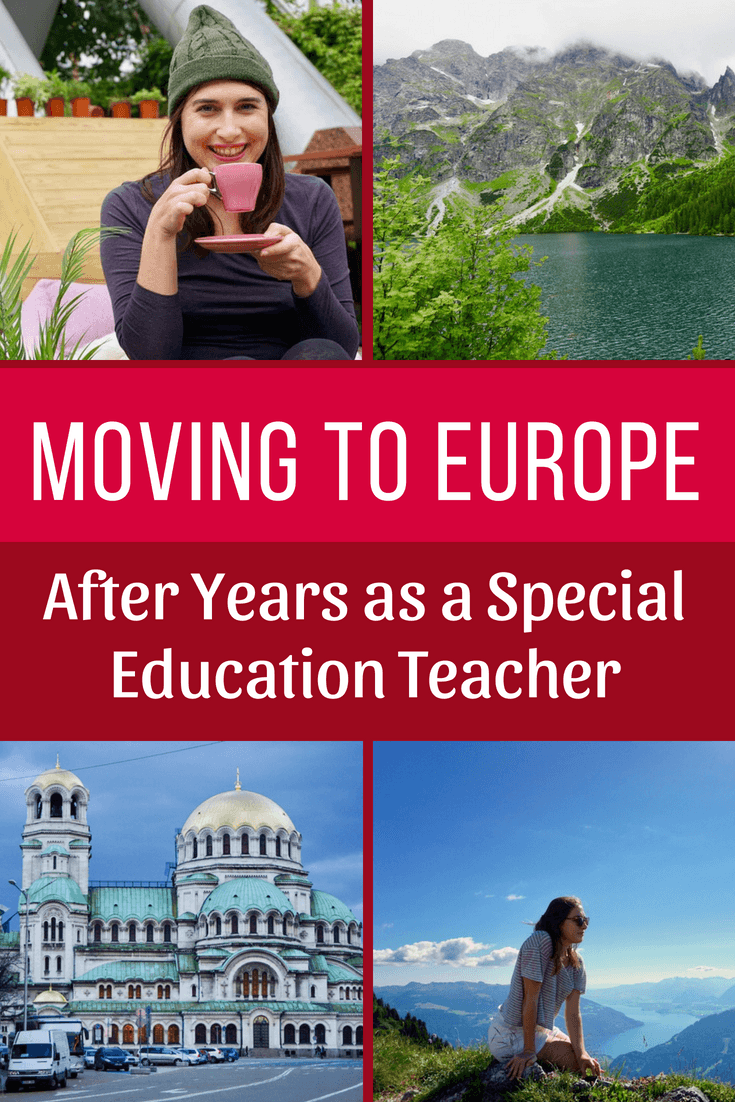 Inspiring interview about moving to Europe and becoming a travel blogger after years of being a special education teacher in New York City!
