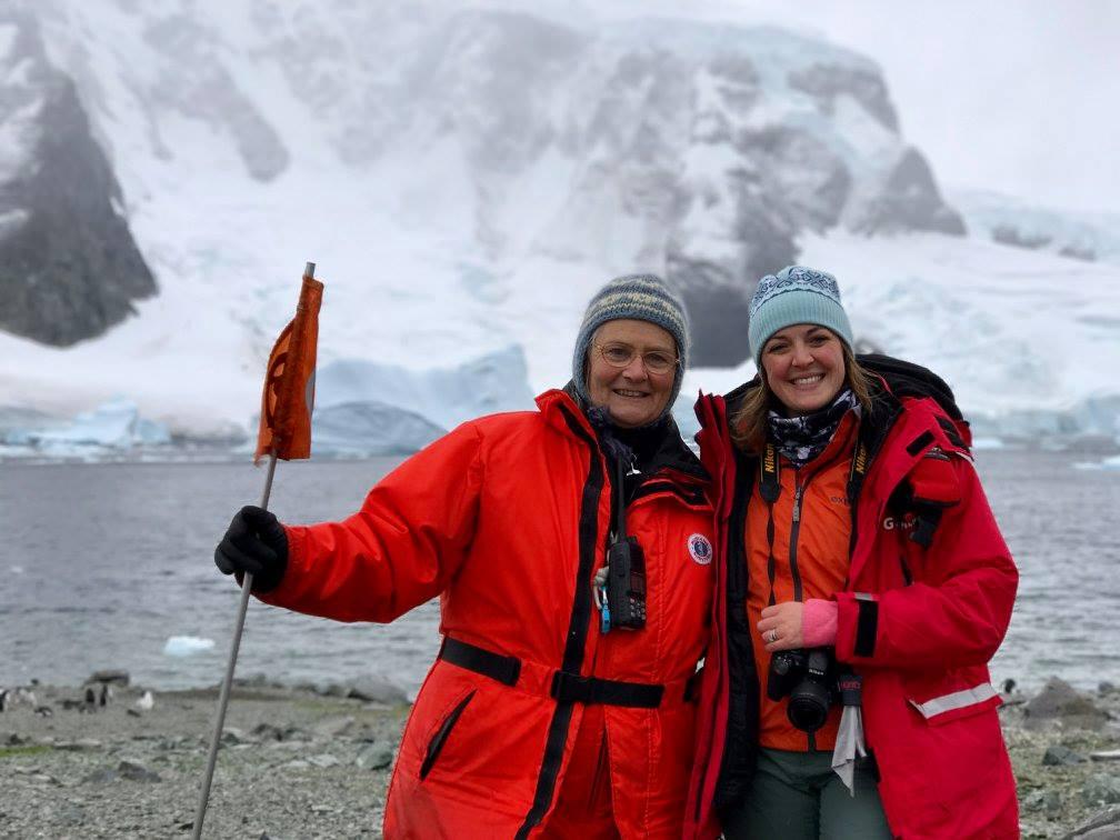 Antarctica cruise with Susan Adie