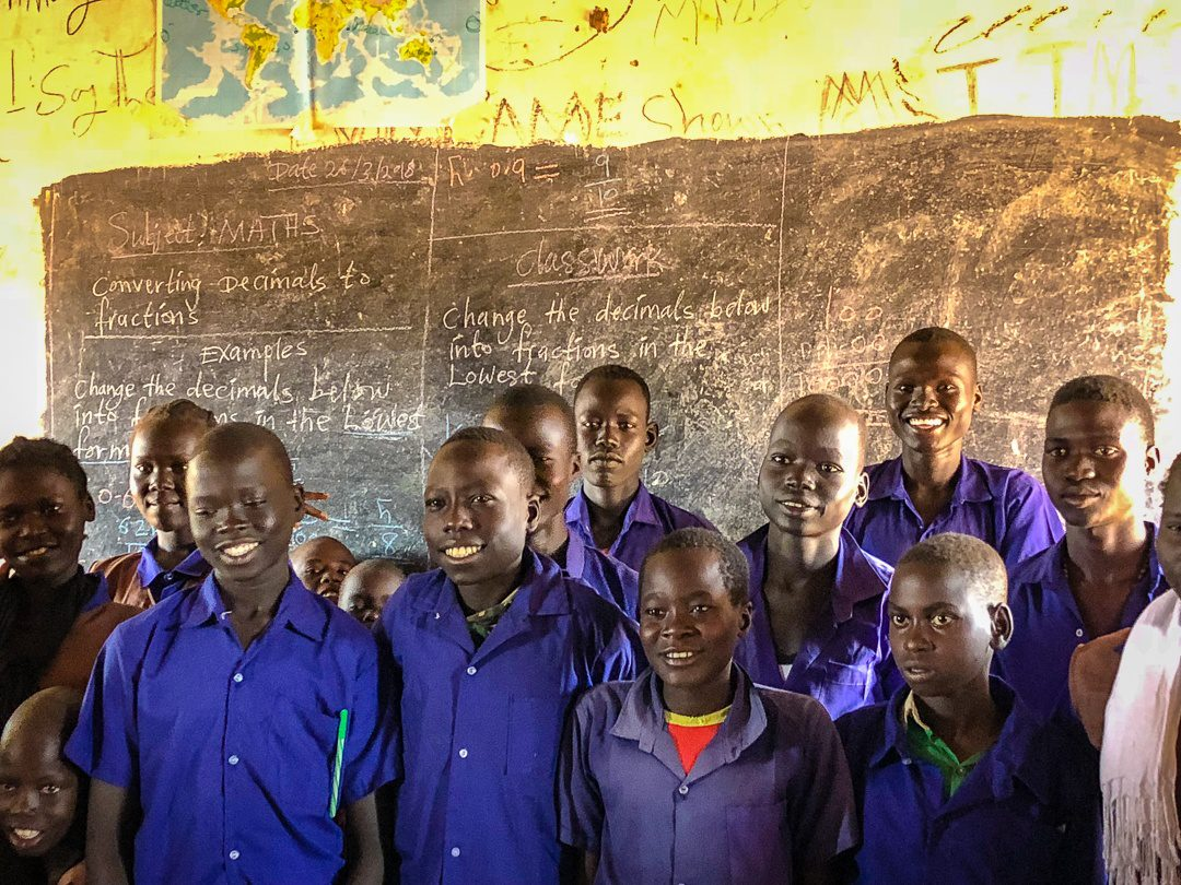 Schoolboys at the Zogolona School.