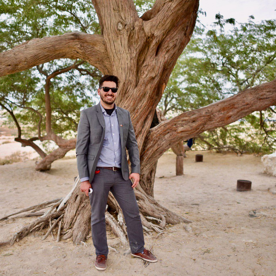 The Bahrain Tree of Life: No one knows why it's growing in the middle of the desert.