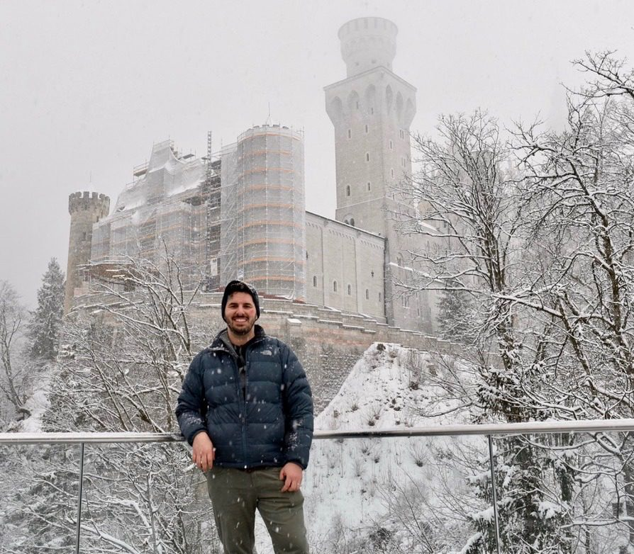 In Germany at Neuschwanstein Castle - The real Cinderella's Castle!
