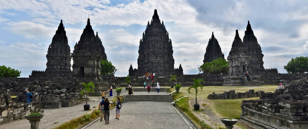 The astounding temples of Prambanan, Indonesia.
