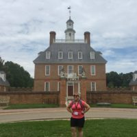 At the Colonial Williamsburg Teacher Institute.