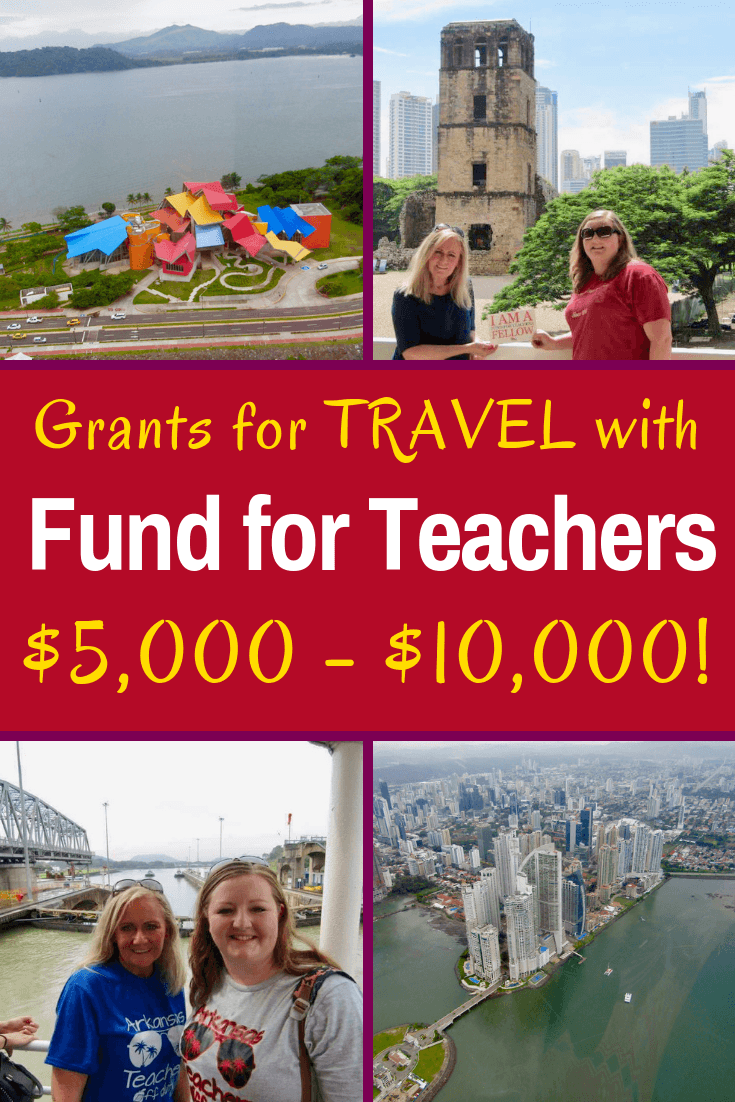 Fund for Teachers is an incredible grant which provides up to $10,000 to support educational travel professional development, as in this example from Panama!