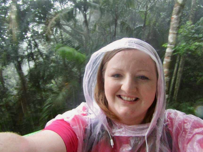 In the Gamboa Rainforest in Panama.