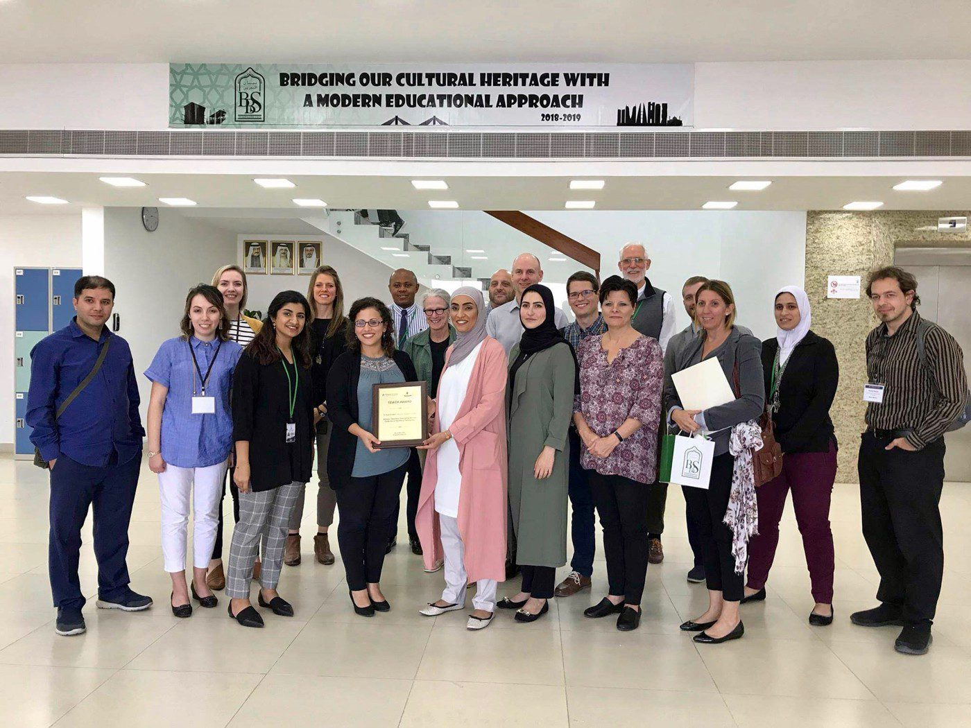 A visit in Bahrain with the Bayan School.