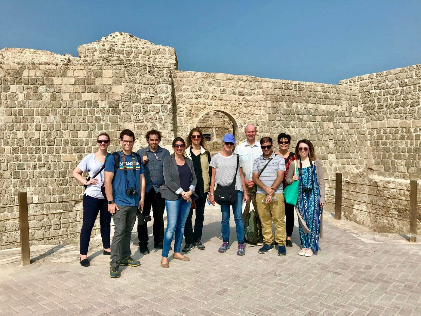 A visit to the Dilmun civilization site in Bahrain.