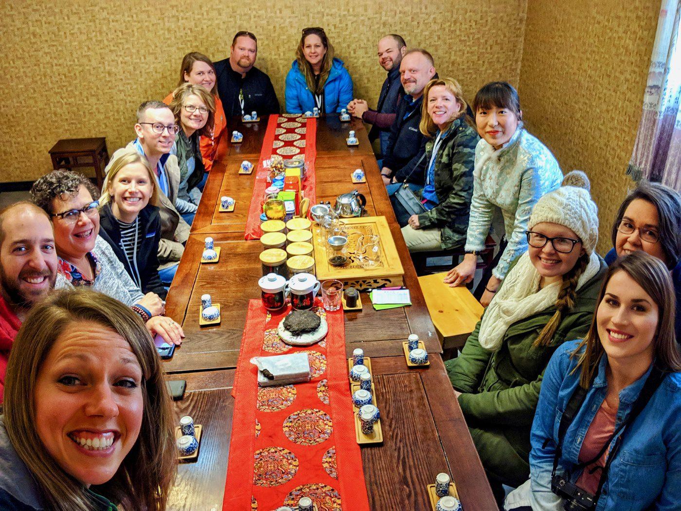 EF Tours Beijing tea tasting