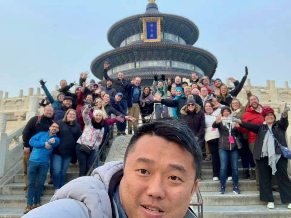 EF Tours Beijing travel with students: teachers travel free