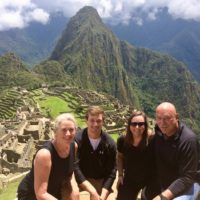 Global travel expert Peggy at Machu Picchu in Peru.
