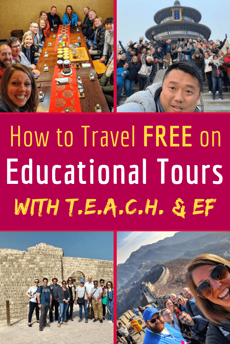 Teachers travel free on educational tours with the TEACH Fellowship and EF Tours! Learn about how in this interview about trips from Beijing, China to Bahrain. #education #teaching #travel