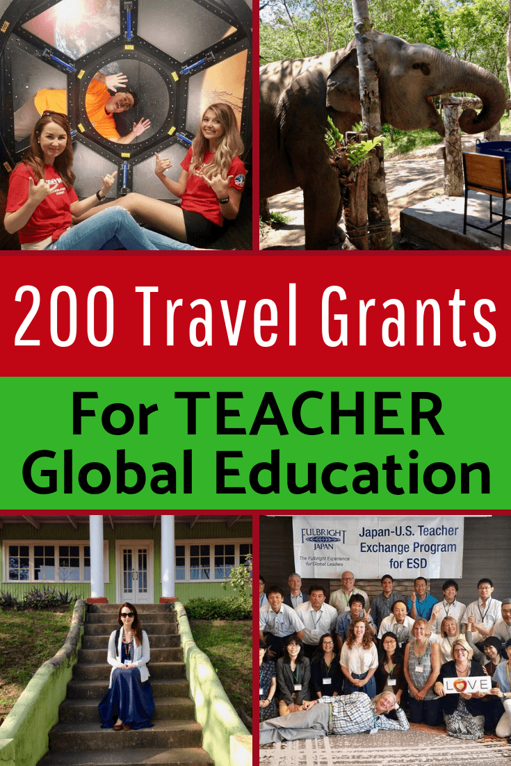 Teacher Appreciation Day or Week Gift Ideas: Free travel opportunities for educators