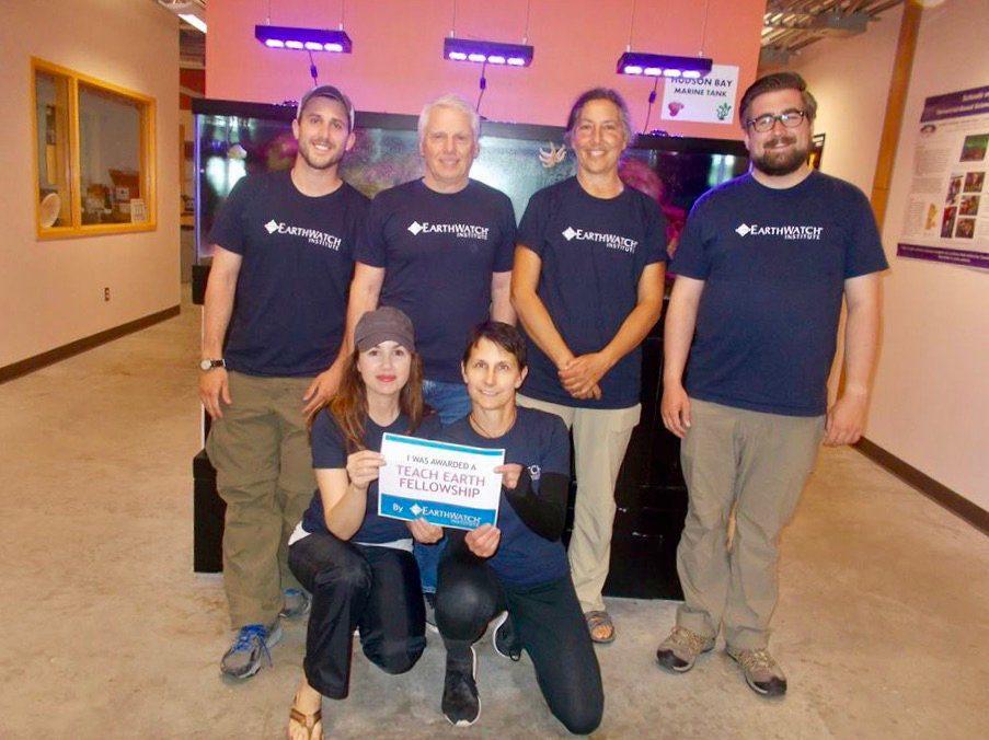 Teachers in the Earthwatch Teach Earth Fellowship.