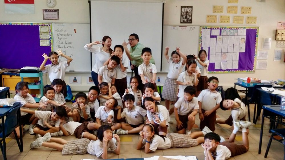 Education fun during travel fellowships in Asia!