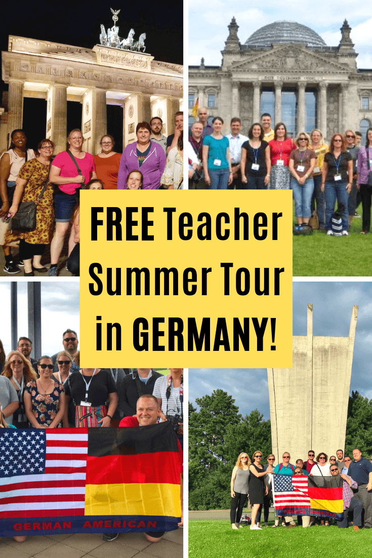 A FREE Germany Tour for Teachers During Summer, Funded by TOP!