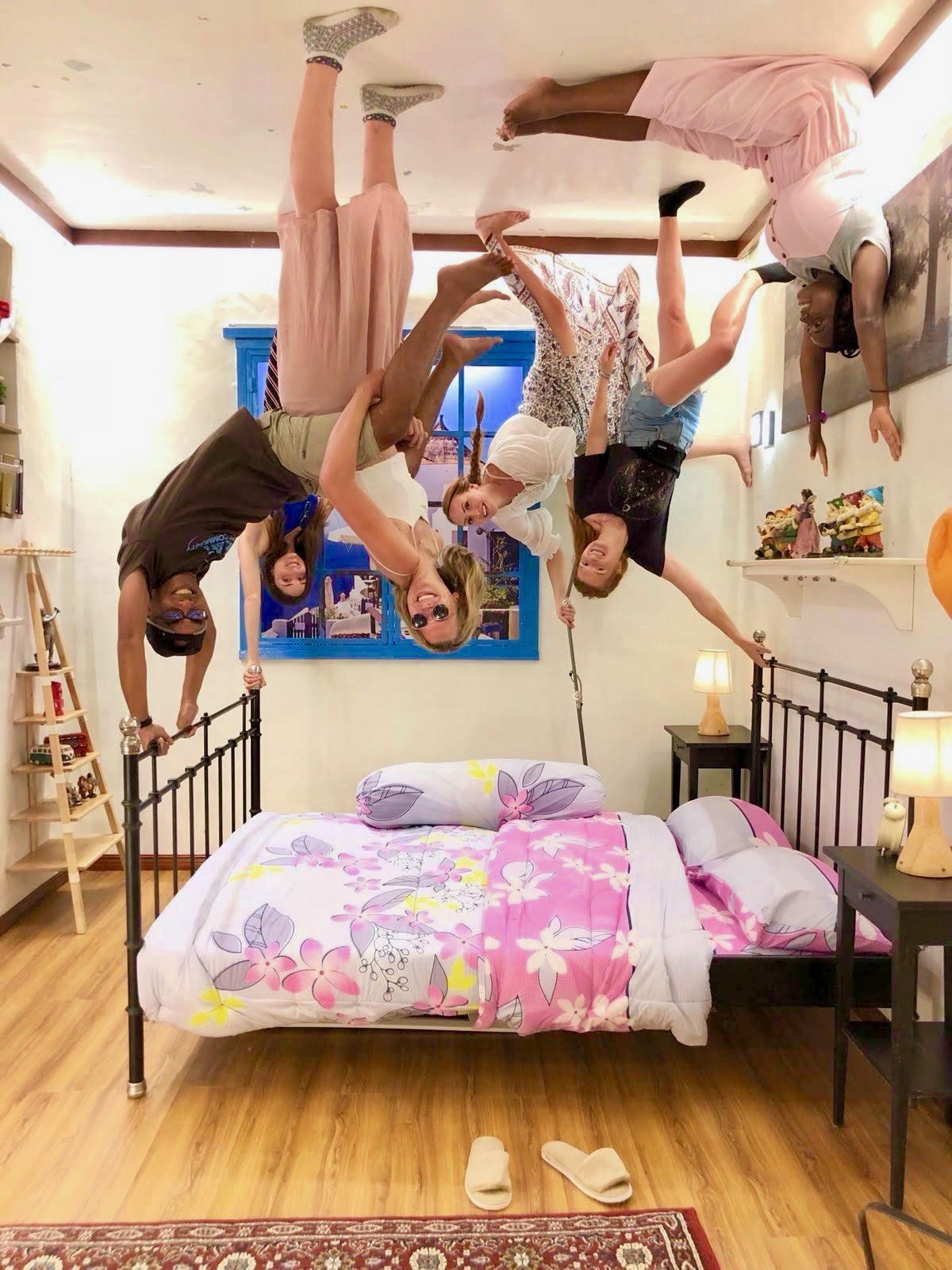 Upside-down house Penang Malaysia