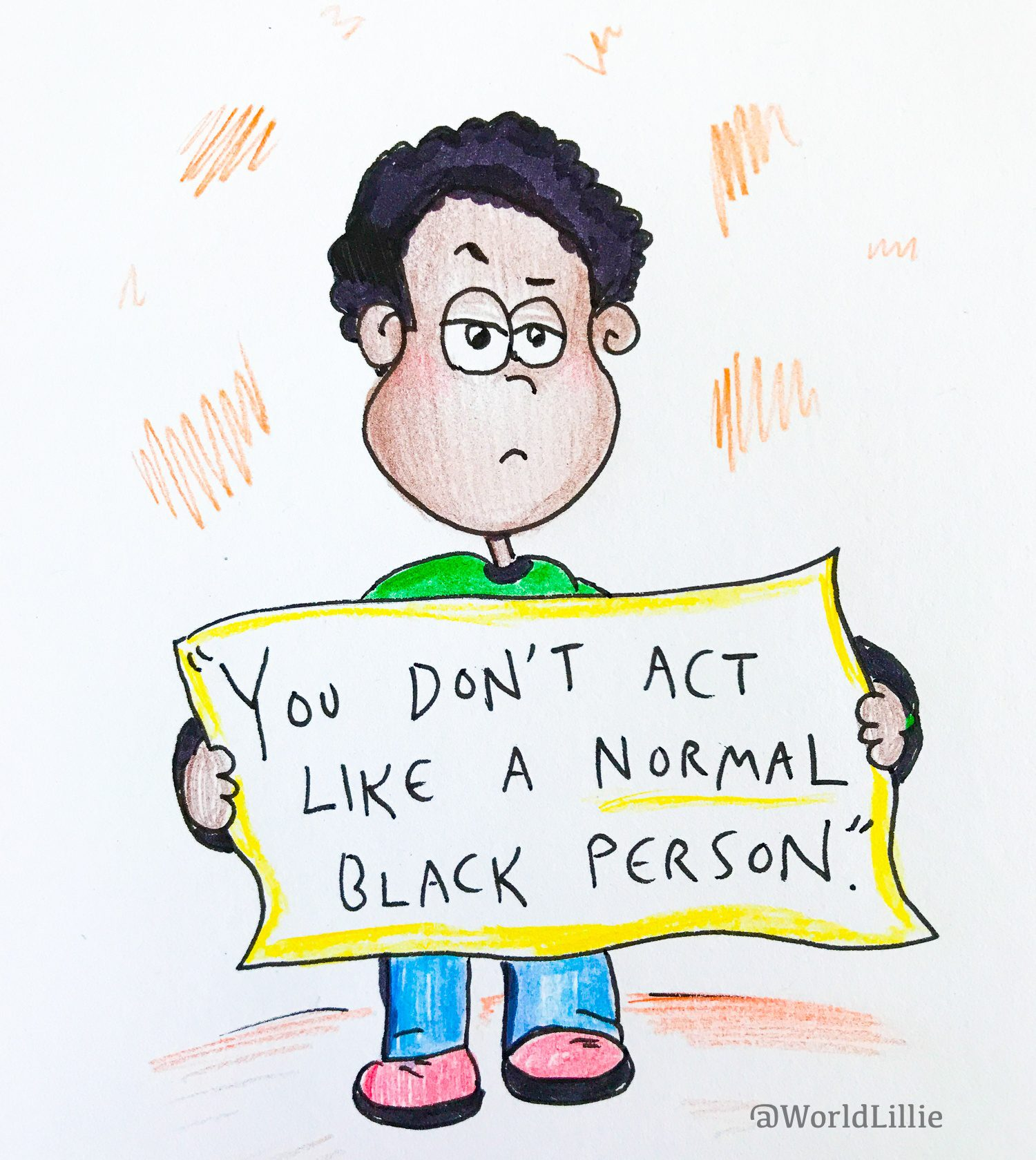 """Microaggressions: You don't act like a normal Black person"""""""
