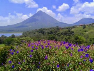 Volcan Arenal Volcano in Costa Rica