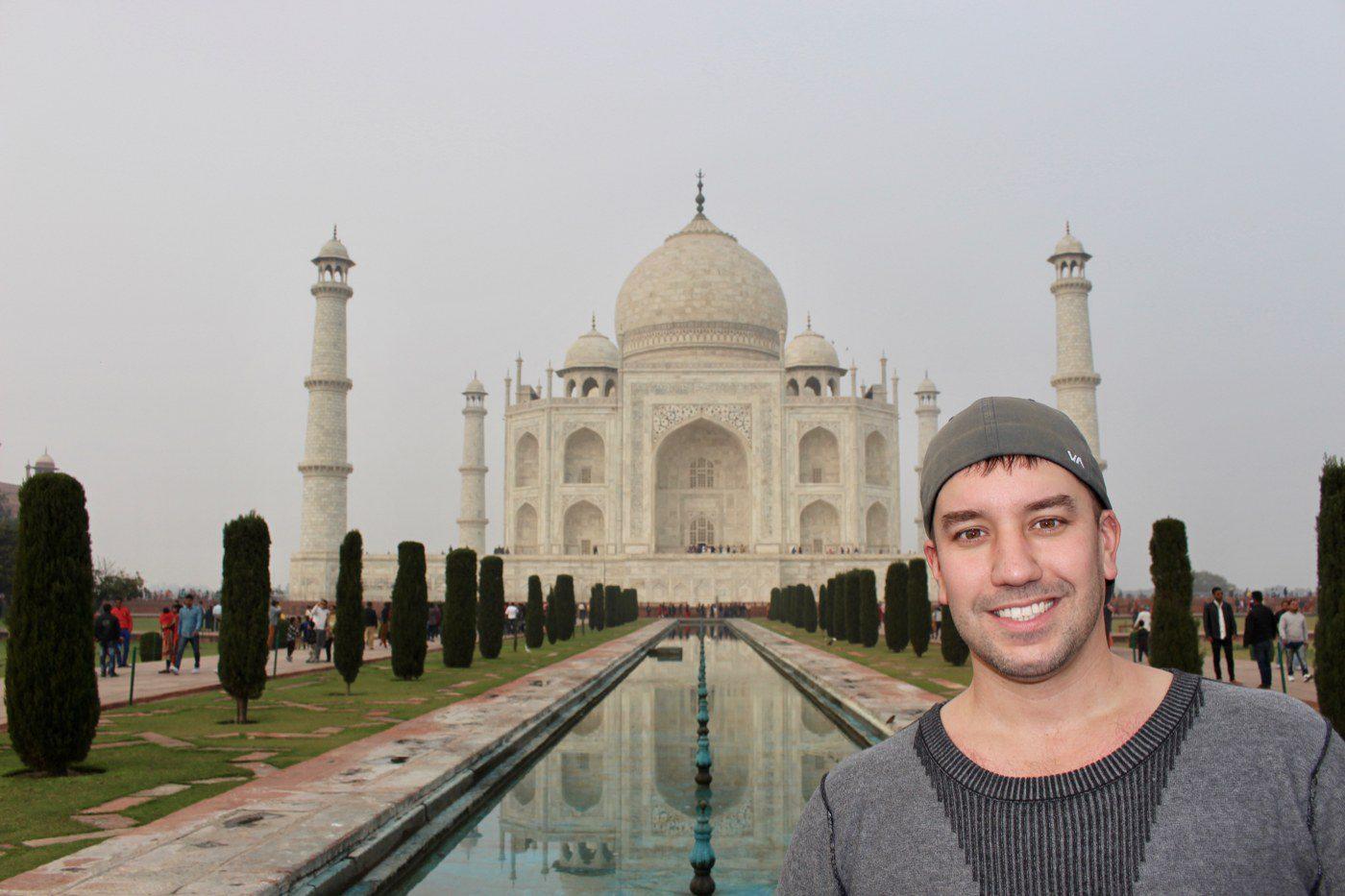 Seeing the Taj Mahal in Person!