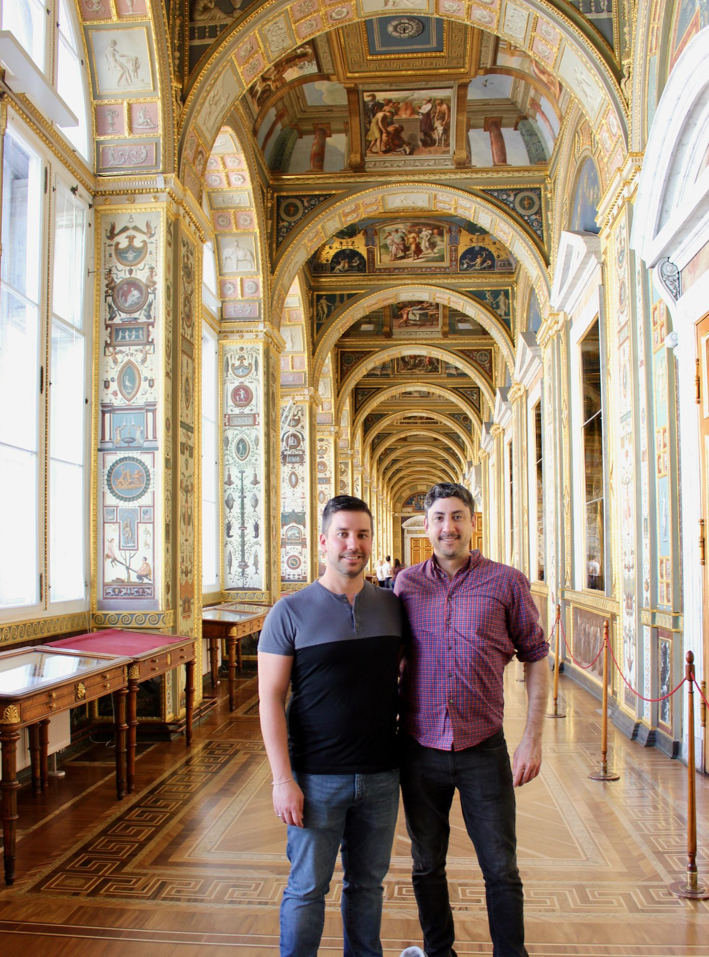 Visiting The Hermitage in Saint Petersburg, Russia