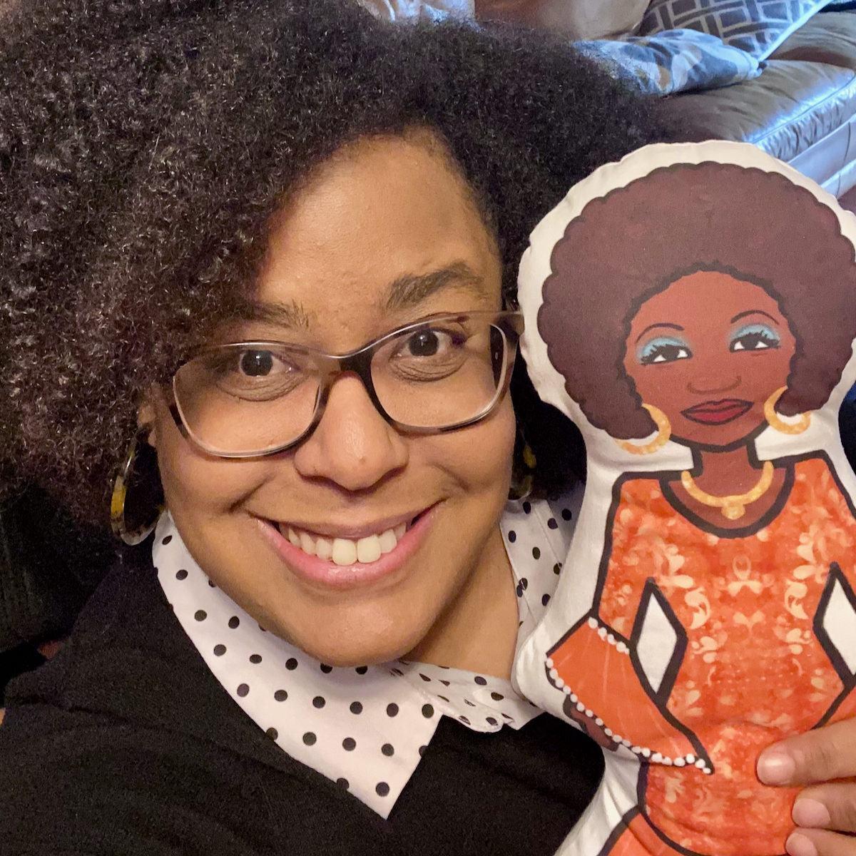 Latina doll: Celia Cruz - Latinx history educational toy