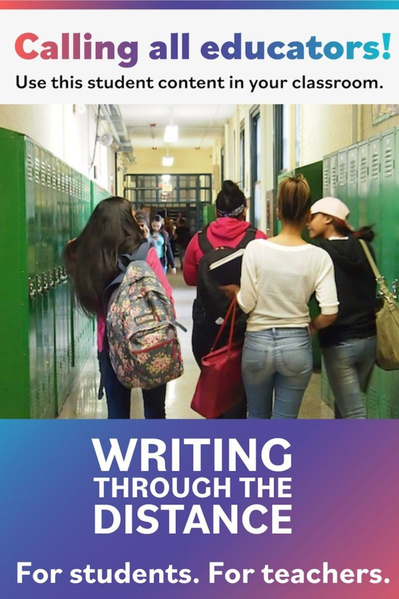 Mentor texts of teen writing for students and teachers: topics and prompts