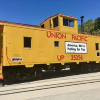 The Union Pacific Train.